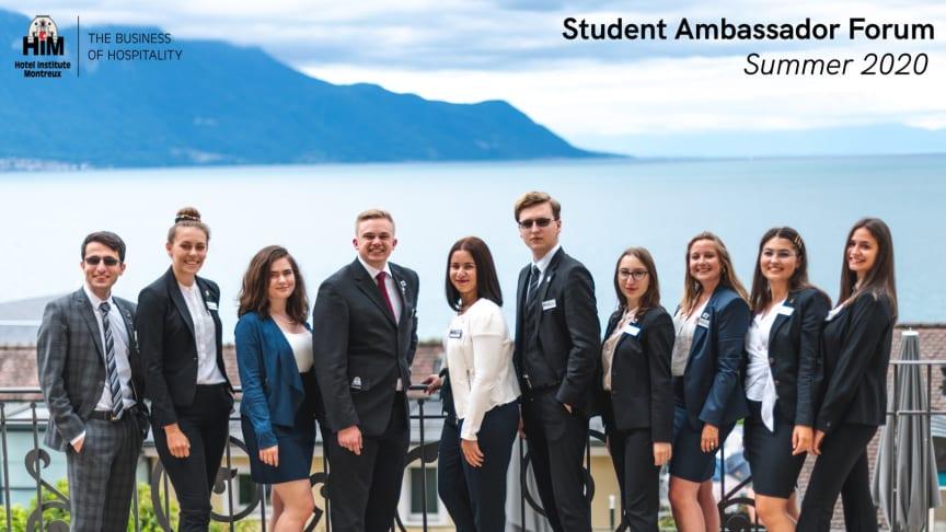 Möt era nya Student Ambassador Forum presidenter