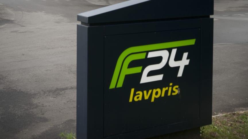 Vores nye F24-anlæg ved Vildmosen Vest på Hirtshalsmotorvejen