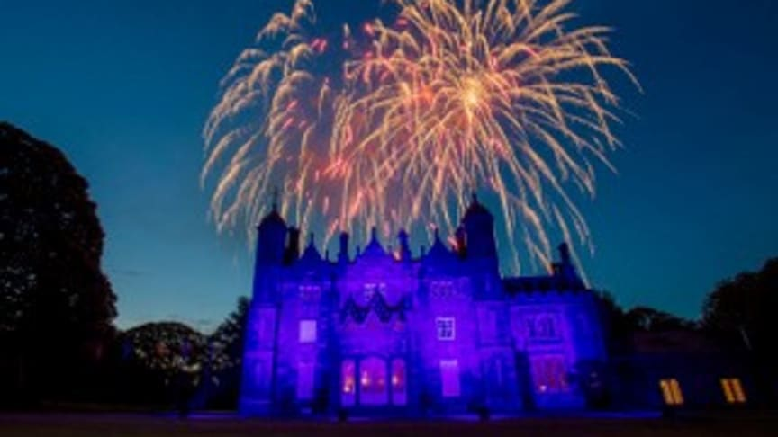 HOMEFEST 'Camp Dalfest At Home' closed with a spectacular fireworks display over Glenarm Castle