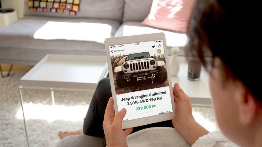 Jeep Wrangler är en av 2018 års snabbsäljare