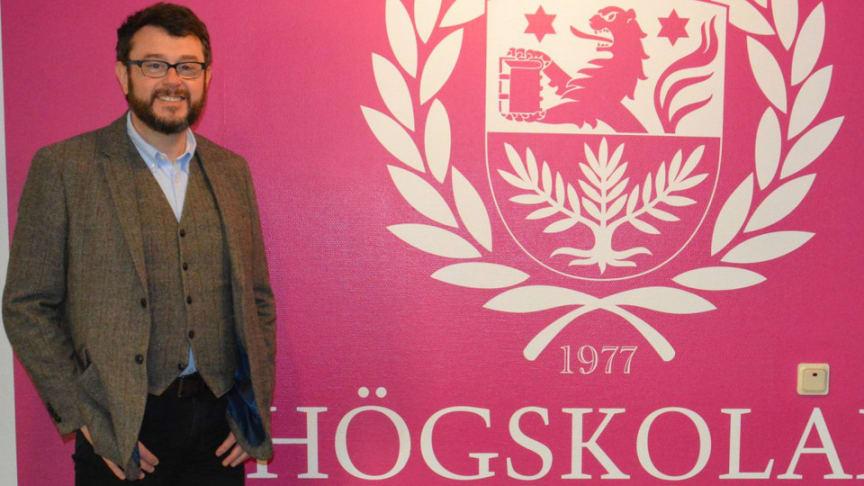 Andrew Katz, gästforskare på Högskolan i Skövde