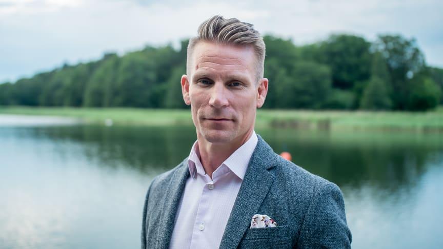 David Larsson, VD.