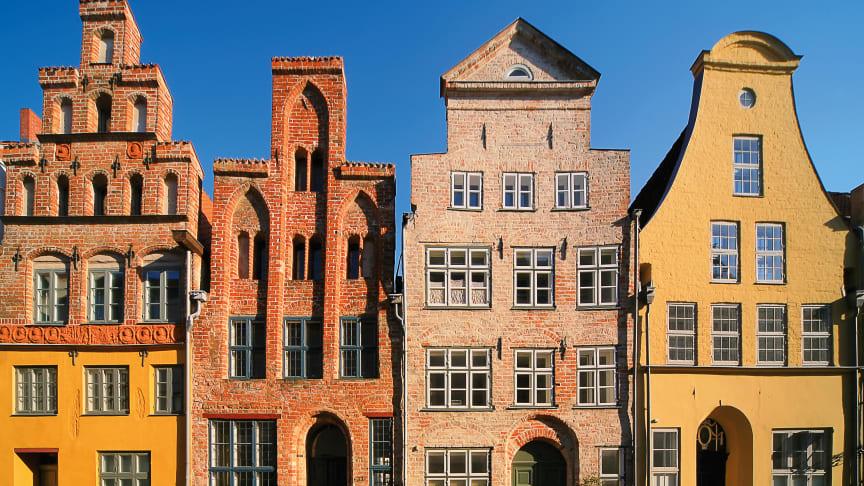 Lübecks købmænd byggede i Middelalderen gavlhuse for penge, de tjente på handel og søfart.