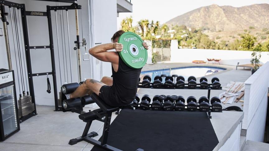 Försäljningen av hemmagym har femdubblats hos svenska gymleverantören