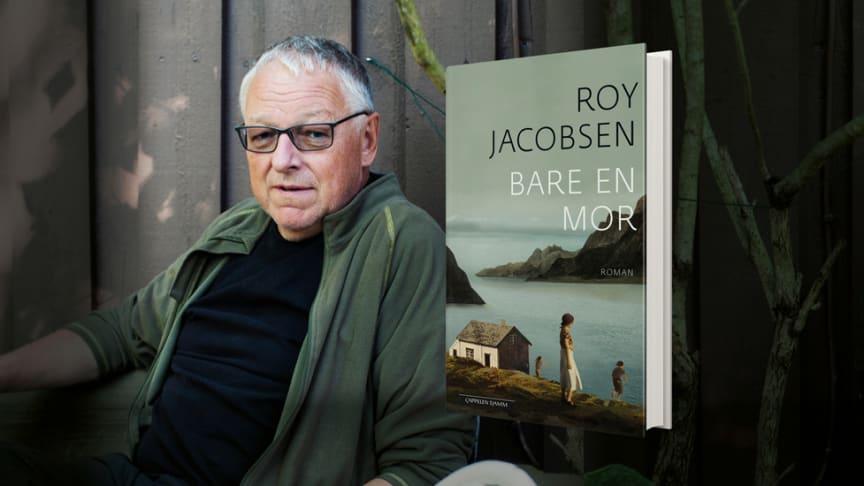 Roy Jacobsen er en av Norges mest leste forfattere. Til høsten utgir han ny roman fra Barrøy og Helgelandskysten. Foto: Maja Hattvang