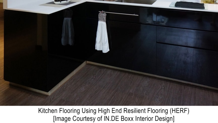 High End Resilient Flooring for Kitchens