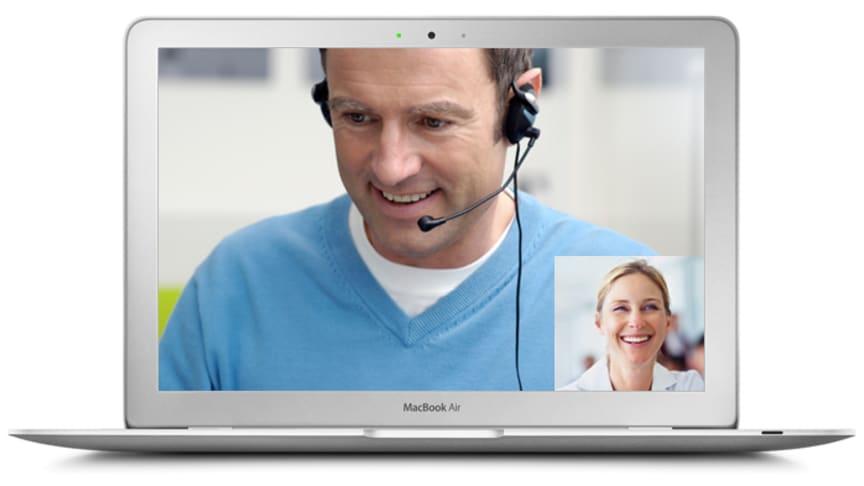 Telavox lanserar videosamtal