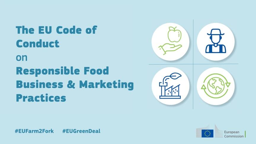 Paulig stödjer EU:s uppförandekod för ansvarsfullt livsmedelsföretagande