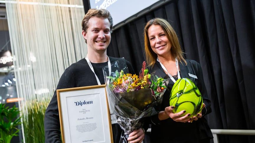 Zalandos lager i Brunna vann Årets Logistiketablering 2018
