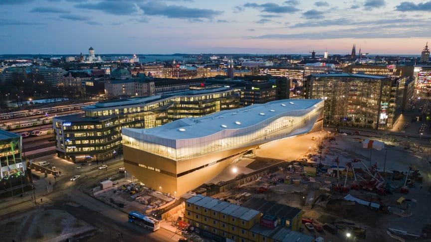 Helsingfors nya stadsbibliotek Ode.