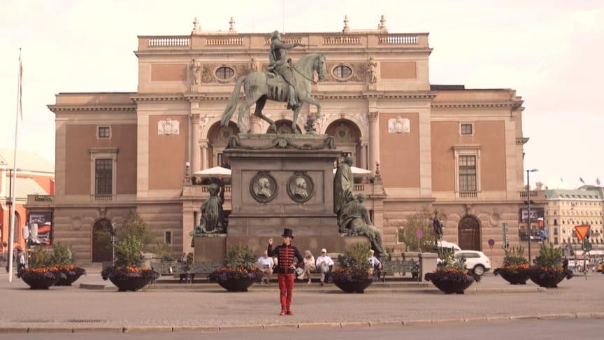 Biljetter till fantasipriser till salu på Gustav Adolfs torg