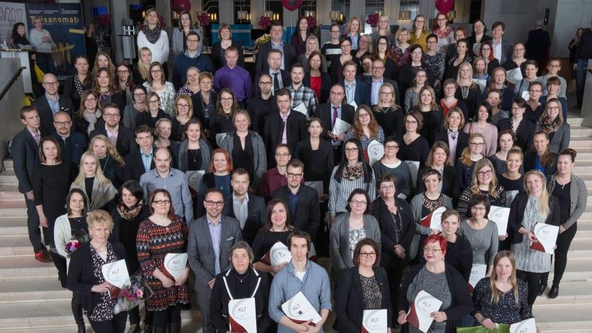 128 taloushallinnon asiantuntijaa suoritti KLT-tutkinnon