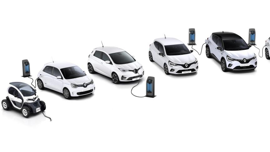 Renault EV och E-TECH