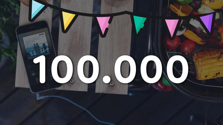 Wachstum schneller als erwartet: BookBeat vermeldet 100.000 zahlende Nutzer
