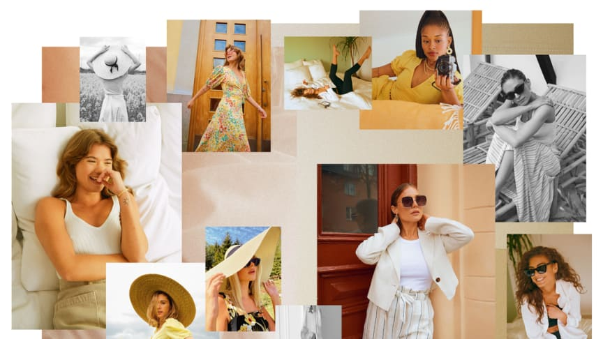 GINA TRICOT FOLLOWS ON LAST YEAR'S SUCCESS WITH A NEW, TRENDSETTING SUMMER CAMPAIGN