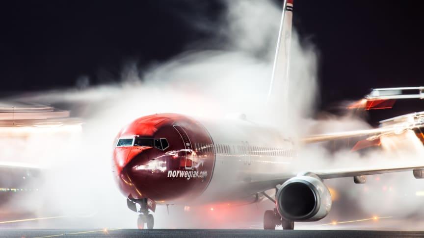 Avión en deshielo