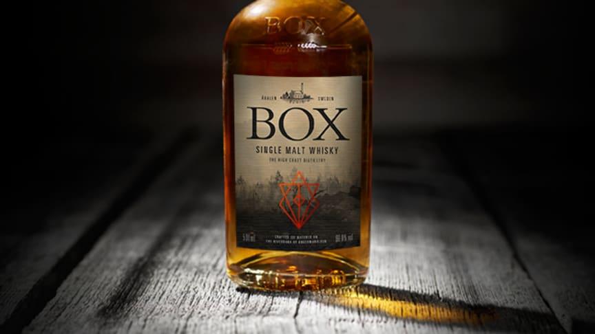 En unik Single Cask buteljering från Box destilleri, i samarbete med Anders Fridén