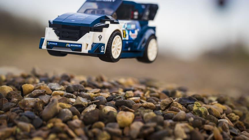M-Sport Ford Fiesta WRC kommer nu i Lego-udgave.