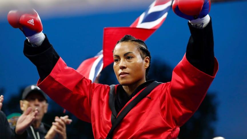 Cecilia Brækhus møter Jessica McCaskill i hovedkampen i Matchroom-stevnet i Tulsa.