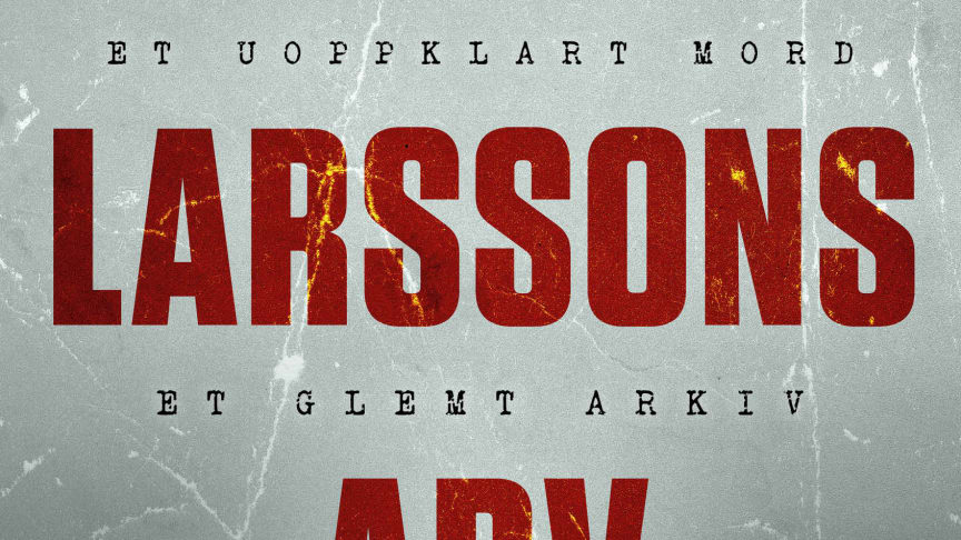 Jan Stocklassas bok er basert på forfatter Stieg Larssons gransking av drapet som fant sted på Sveavägen i Stockholm sentrumen februarnatt i 1986.