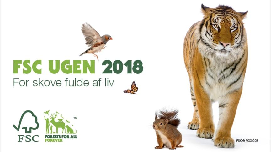 FSC Ugen 2018 afholdes mellem 19. - 25. marts. FSC-mærkningen garanterer bæredygtig skovdrift og gode vilkår for de lokale befolkninger, derfor støtter Verdens Skove FSC.