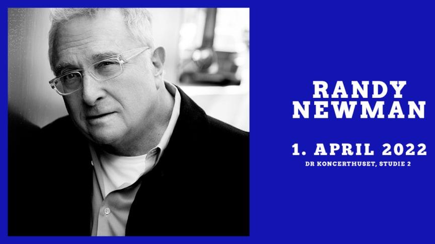 Randy Newman gæster DR Koncerthusets Studie 2 fredag den 1. april 2022