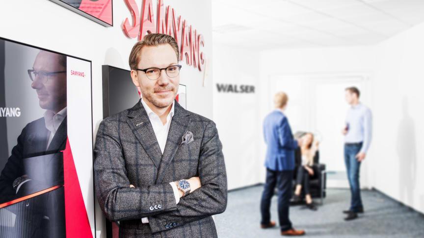 Niclas Walser, Inhaber und Geschäftsführer der WALSER GmbH & Co. KG