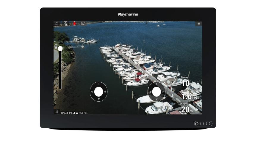High res image - Raymarine - Axiom 12 UAV Marina