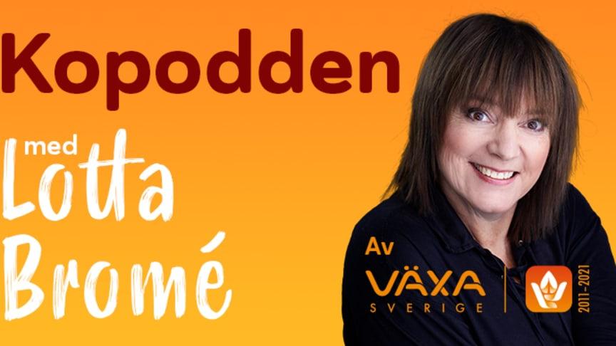 Det här är jättespännande! Jag hoppas Kopodden kan bidra till att kunskapen om såväl svenskt lantbruk som Sveriges matproduktion ökar, säger Lotta Bromé