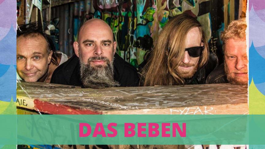Am 3. Wochenende wird es rockig beim Bootshafensommer mit der Kieler Band das Beben.