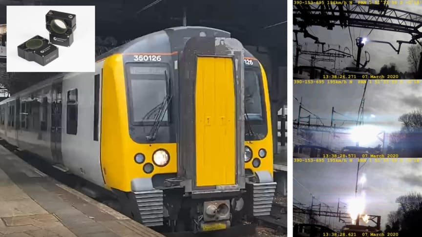 London Northwestern Railway supports Network Rail power line inspection