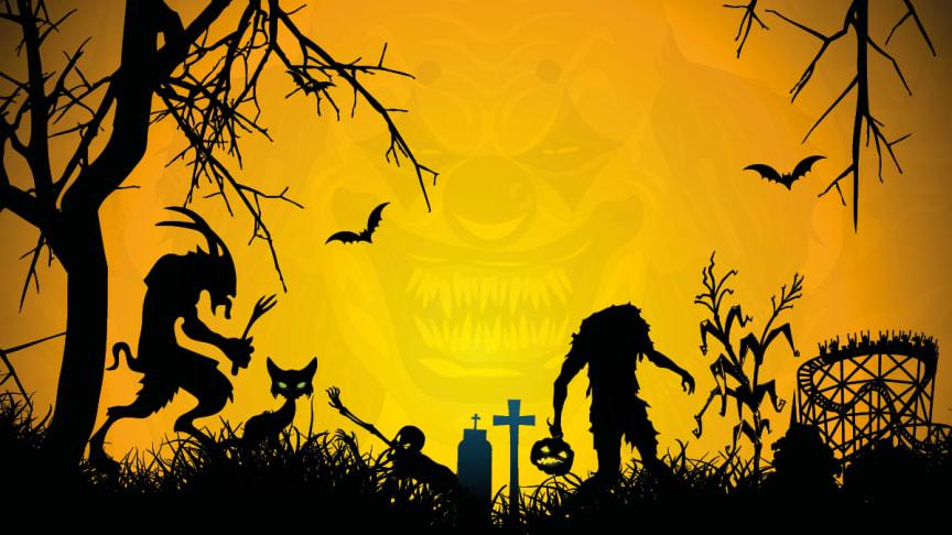 Halloween i Rædselsskoven på Bakken