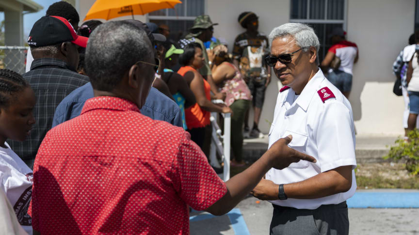 The Salvation Army's Hurricane Response in The Bahamas Continues to Grow