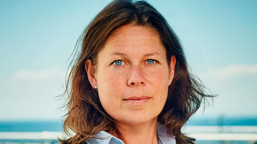 Marinette Hagman är forsknings- och utvecklingsansvarig på NSVA, som tillsammans med Helsingborgs stad mottar 2018 års Avlopps & Kretsloppspris.