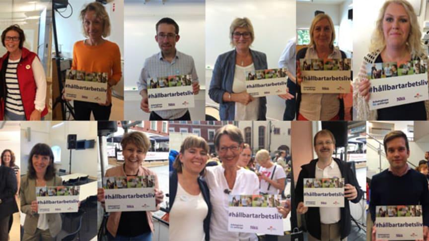 Stort intresse för hållbart arbetsliv i Almedalen
