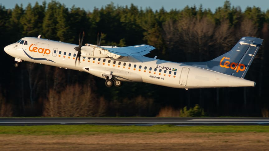Air Leap ATR 72. Foto: William Skoglund