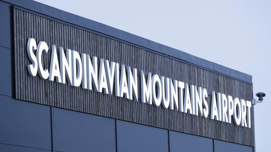 Regeringsbeslut om gränsövergångsställe - nu kan flygen från London landa på Scandinavian Mountains Airport
