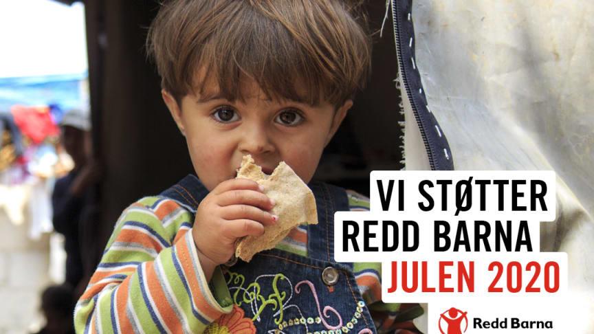 Vi støtter Redd Barna julen 2020