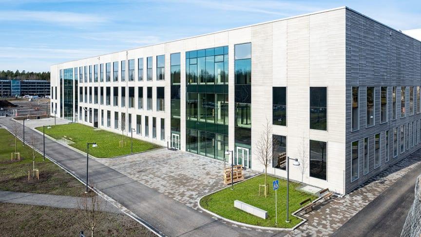 Nya behandlingsbyggnaden O-huset vinner årets Ljudmiljöpris.