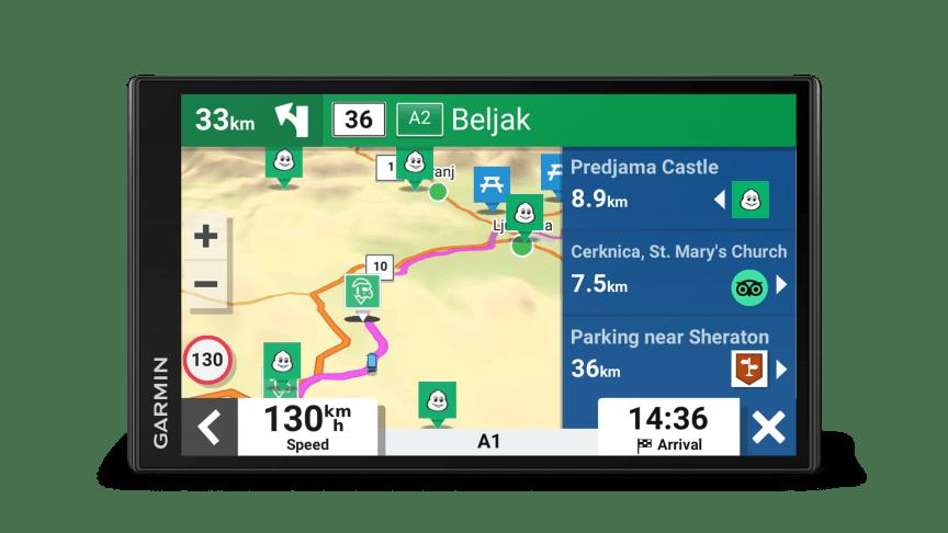 CAMPERVAN : LE PREMIER GPS GARMIN DEDIÉ AUX AMATEURS DE ROAD TRIPS EN VANS