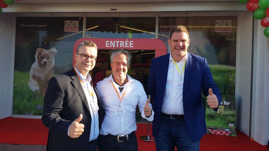 Freuen sich auf den 1500 Markt: Jan Wejbrandt, Torsten Toeller und Sven Girmendonk