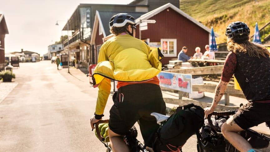 Sydkustleden går lige forbi ikoniske Ale Stenar på den skånske sydkyst. Foto: Apelöga