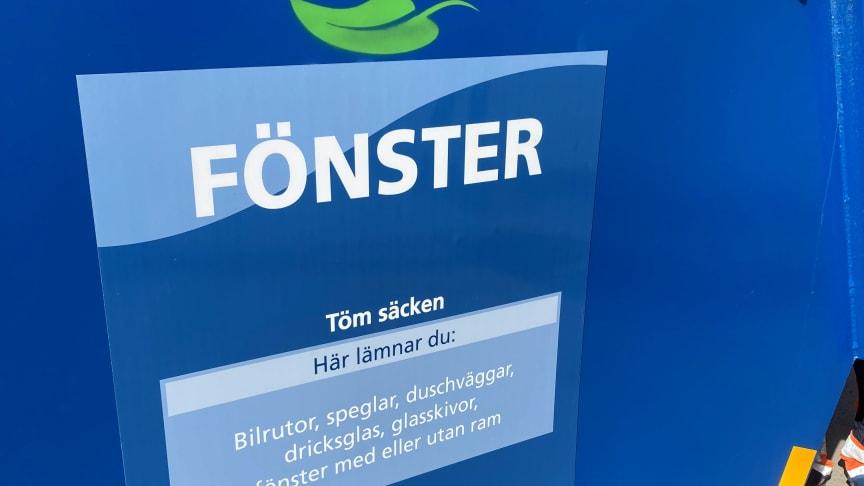 Ny fraktion på Återbruken under 2021 ska minska avfallet till deponi med 50 %. Foto: VafabMiljö