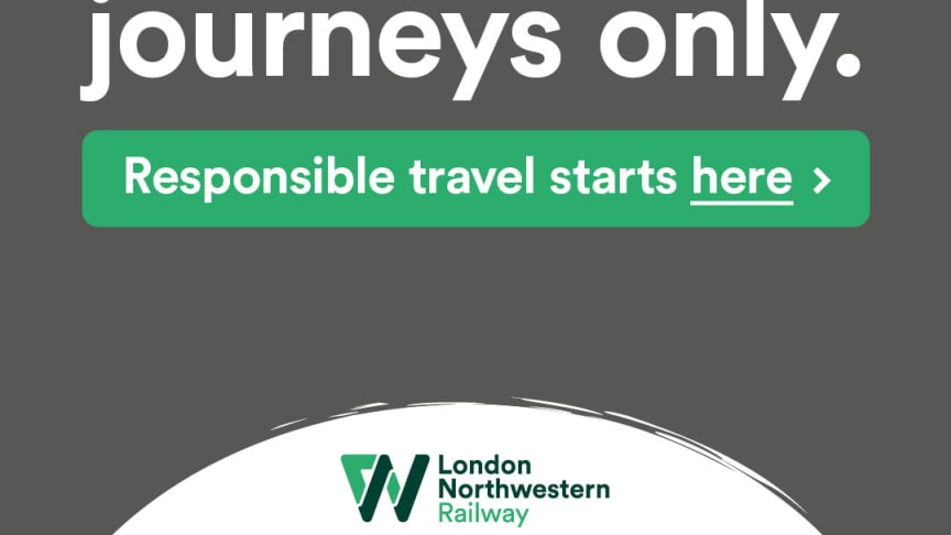 London Northwestern Railway urges customers to avoid the train when planning reunions