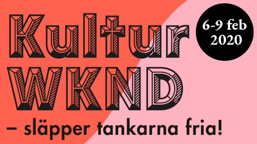 Fler fria programpunkter under KulturWKND