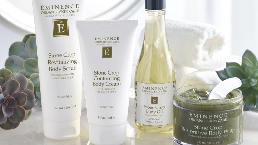 Stone Crop Body Collection - nyhet från Èminence Organics