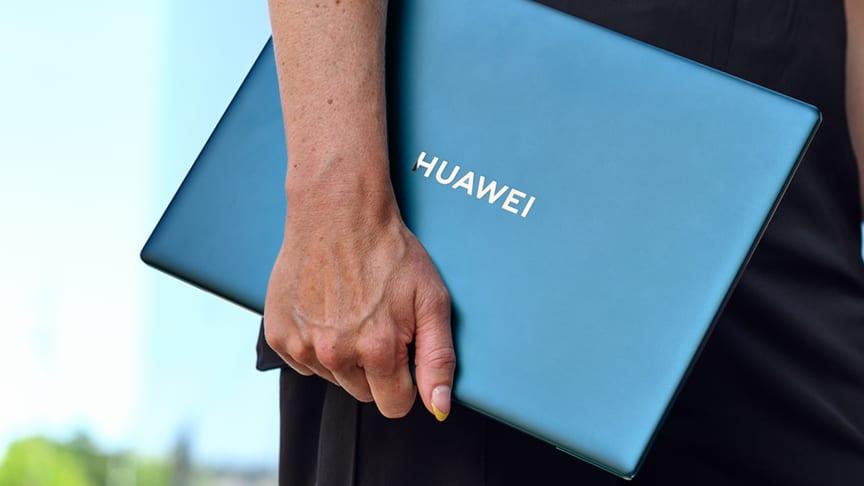 Huawei lanserar MateBook X Pro 2021  – en uppgraderad, sömlös användarupplevelse