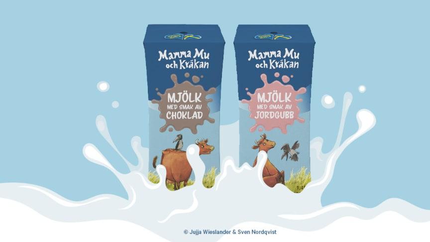 Mamma Mu & Kråkan finns i två olika smaker