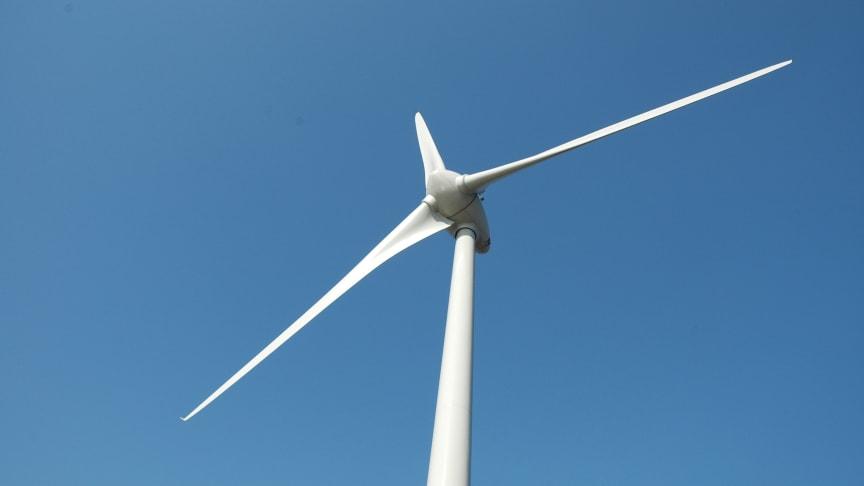 Spadtag för vindkraft