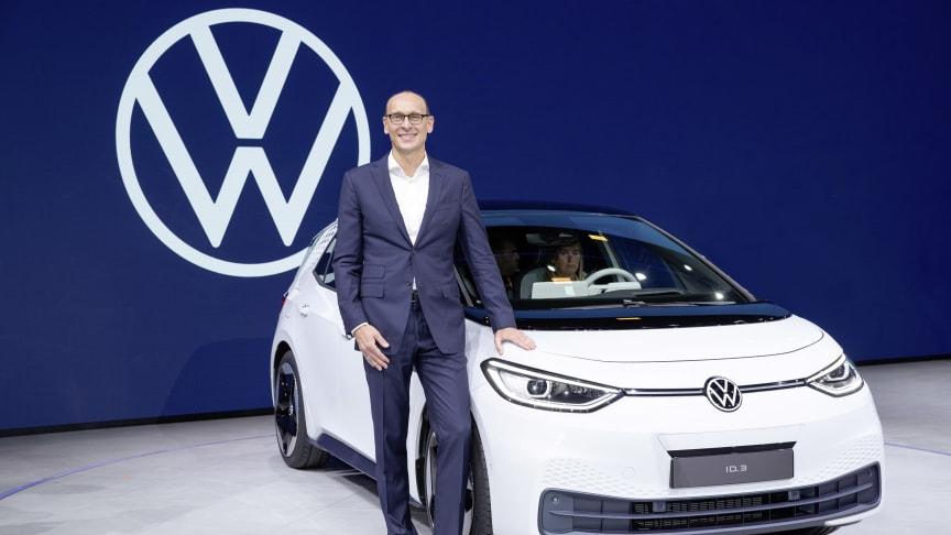 Ralf Brandstätter står i spidsen for Volkswagen-mærket fra den 1. juli